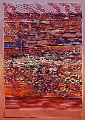 Mississippi River Traffic Poster by Nancy Kane Chapman
