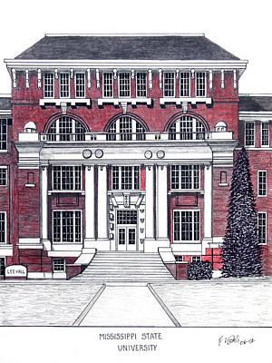Mississippi State University Poster by Frederic Kohli