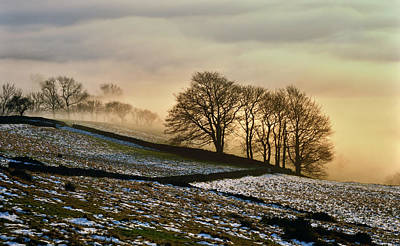Mist Inversion, Bamford Edge Poster