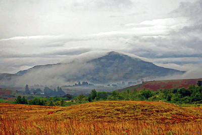 Mist Over Skye Poster by Brian Shaw