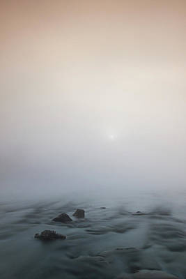 Poster featuring the photograph Mist Over The Third Stone From The Sun by Davor Zerjav