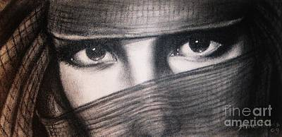 Mistic Eyes Poster by Anastasis  Anastasi