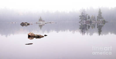 Misty Algonquin Morning Poster