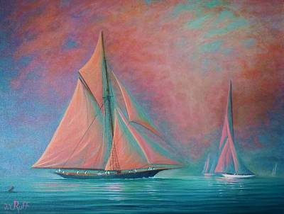 Misty Bay Rendevous Poster