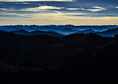 Misty Mountains Poster by Pelo Blanco Photo