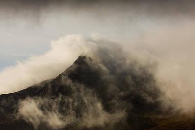 Misty Peak Poster