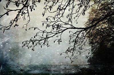 Misty Tide Poster by Randi Grace Nilsberg