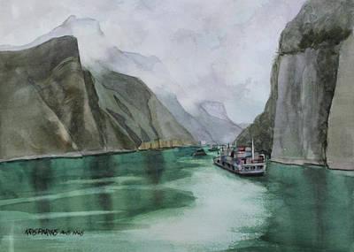 Misty Voyage Poster