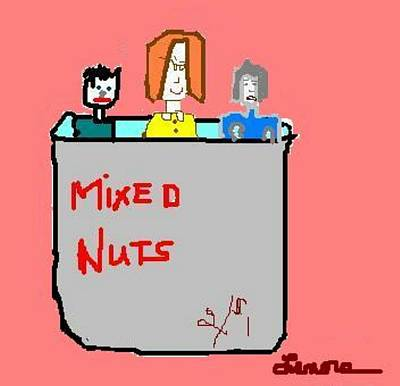 Mixed Nuts Poster by Lenore Senior