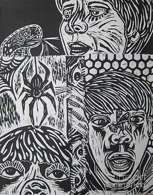 Mixed Print 2 Poster by Susan Riha Parsley