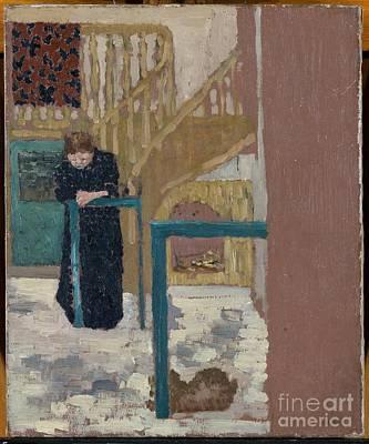 Mme Vuillard In A Set Designer's Studio Poster