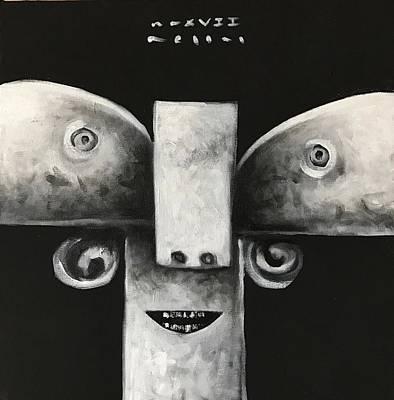 Mmxvii Masks For Despair No 4  Poster