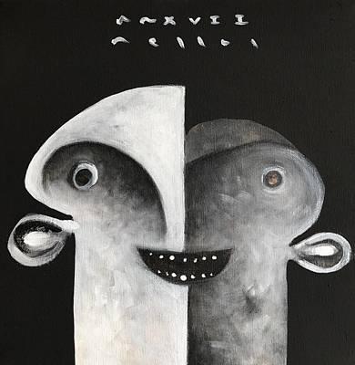 Mmxvii Masks For Despair No 7 Poster by Mark M Mellon