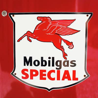Mobilgas Vintage 82716 Poster