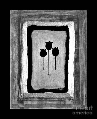 Mod Tulips Poster by Marsha Heiken