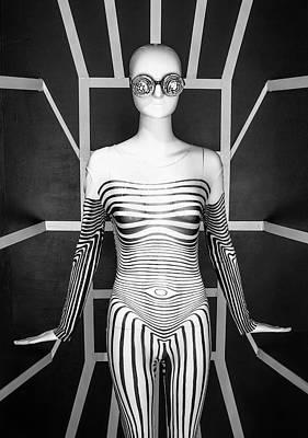 Modern Black And White Poster by Scott Meyer