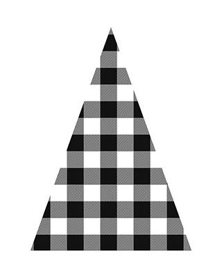 Modern Black And White Tree 2- Art By Linda Woods Poster