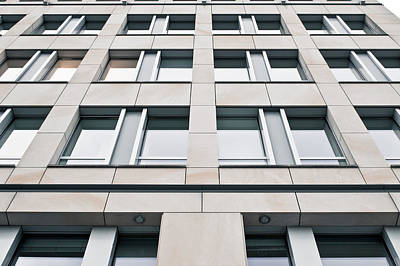 Modern Building Exterior Poster by Tom Gowanlock