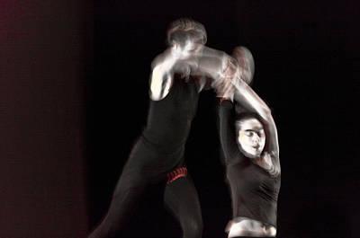 Modern Dance 14 Poster by Catherine Sobredo