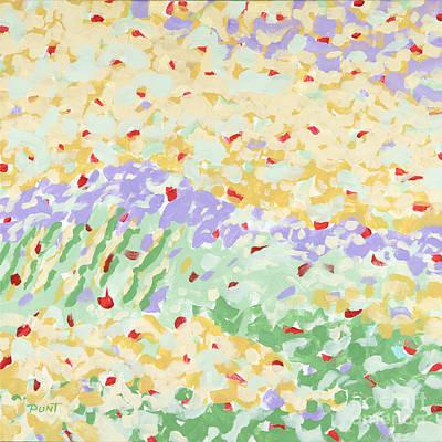 Modern Landscape Painting 3 Poster by Gordon Punt