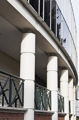 Modern Pillars Poster by Tom Gowanlock