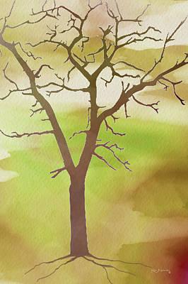Modern Tree Art Poster