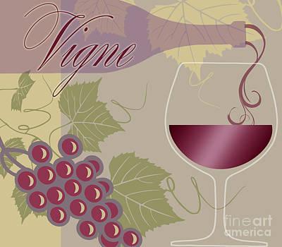 Modern Wine II Poster