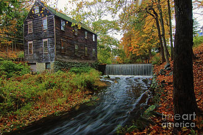 Moffett Mill Poster by Jim Beckwith