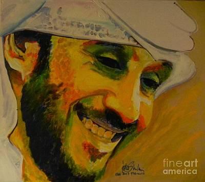 Mohammed Issa Al Mansoori  Poster by Jolanta Shiloni