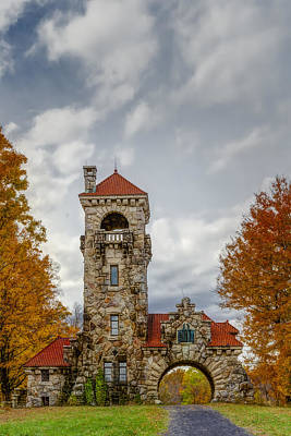 Mohonk Preserve Gatehouse II Poster by Susan Candelario