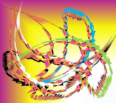 Molecular Energy Poster by Belinda Threeths