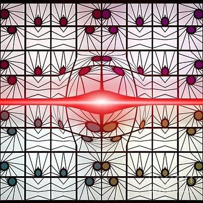 Molecule Flare Poster