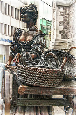 Poster featuring the photograph Molly Malone by Hanny Heim