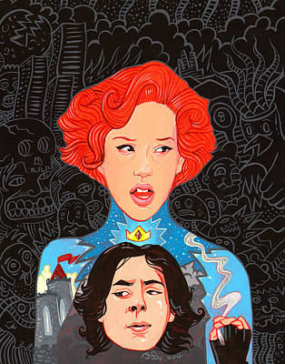 Molly Ringwald With Royal Bender Poster