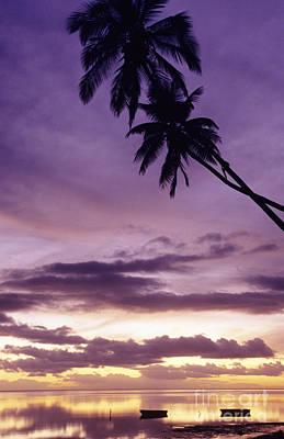 Molokai Sunset Poster by Bob Abraham - Printscapes