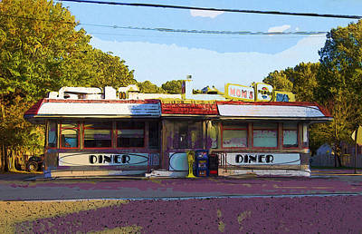 Mom's Diner IIi Poster by Rick Black