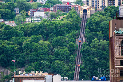Mon Incline Pittsburgh Pennsylvania Poster by Amy Cicconi