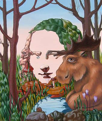 Mona Lisa . Earth Poster