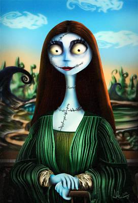 Mona Lisa Poster by Alessandro Della Pietra