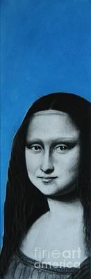 Mona Lisa Poster by Anastasis  Anastasi