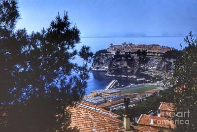 Monaco 1954 Poster by Noze P