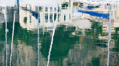 Monaco Reflection Poster by Keith Armstrong