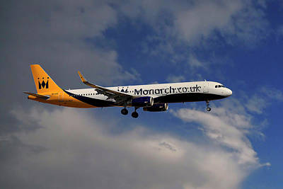Monarch Airbus A321-231 Poster