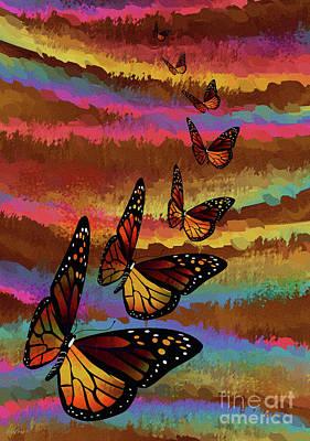 Monarch Migration Poster
