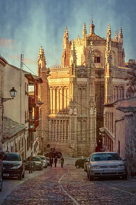Monastery Of San Juan De Los Reyes Poster by Joan Carroll
