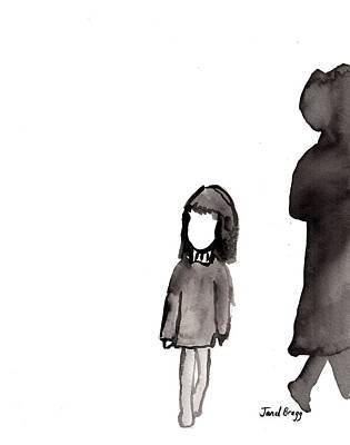 Monday Girl Poster by Janel Bragg
