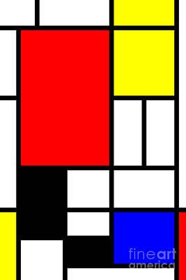 Mondrian-ity 1 Poster