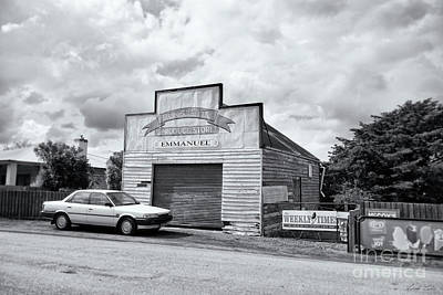 Poster featuring the photograph Monegeetta Produce Store by Linda Lees