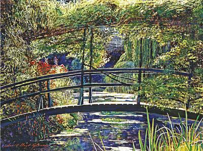 Monet Poster by David Lloyd Glover