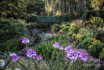 Monet Garden Poster